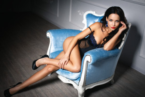 Young girl in a sexy lingerie